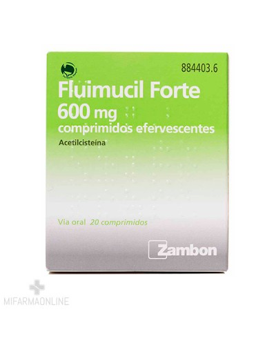 FLUIMUCIL FORTE 600 MG 20...