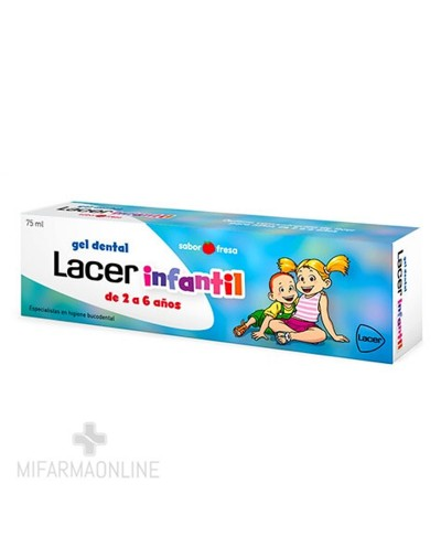 LACER INFANTIL GEL DENTAL...