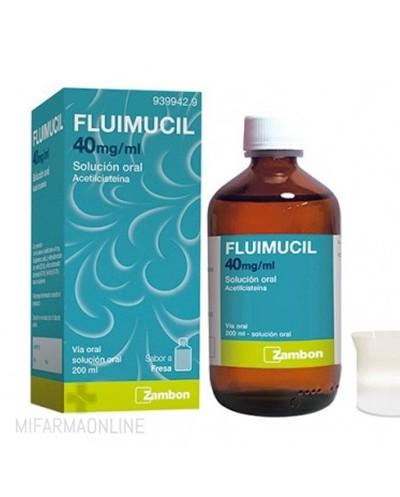 FLUIMUCIL 40 MG / ML...
